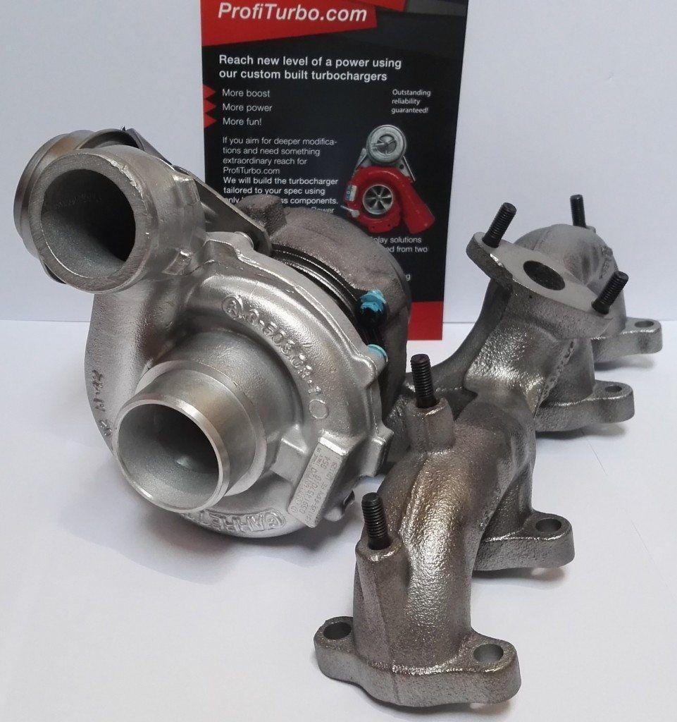 Garrett Twin Turbo Kit: Garrett VNT17/20 Hybrid Turbo Audi, Seat, Skoda, VW 1.9 2